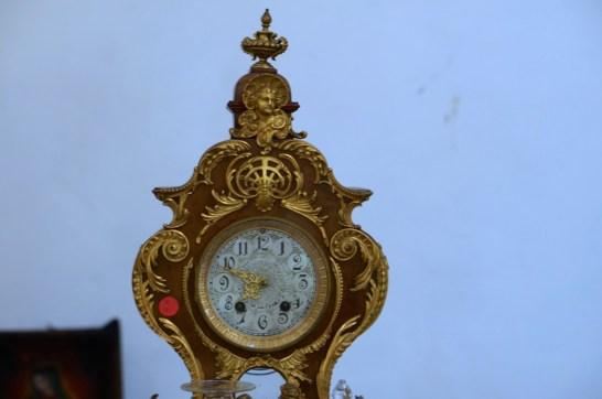 I found this antique clock upstairs.