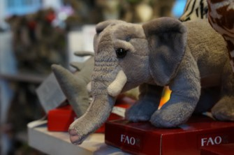 FAO Schwarz unique gift ideas kids elephant stuffed animal nyc gift