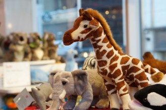 FAO Schwarz giraffe stuffed animal unique gift ideas kids