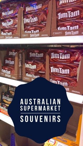 Souvenir Shop An Australian Supermarket