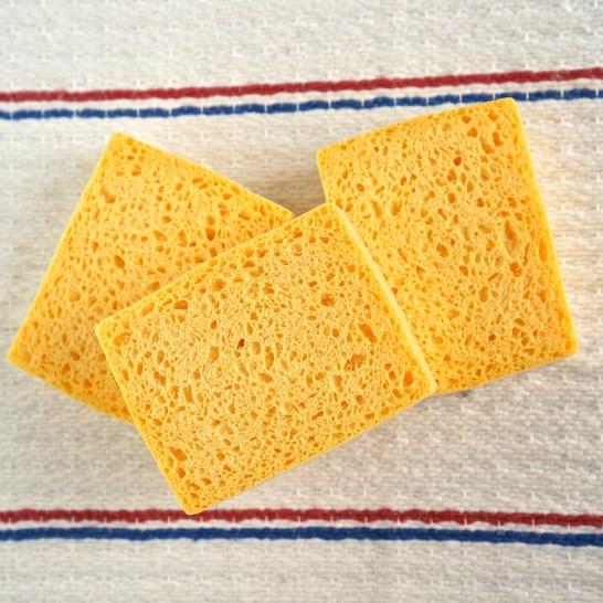 French Supermarket Souvenir Monoprix Kitchen Sponge