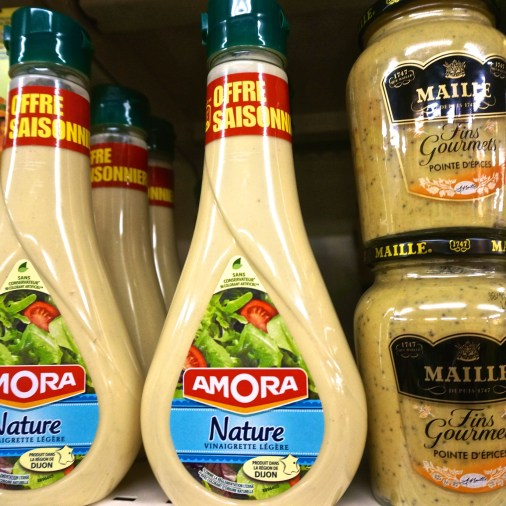 French Supermarket Souvenir Monoprix Paris Dressing
