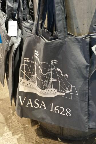 Sweden Vasa Museum Gift Shop Bag