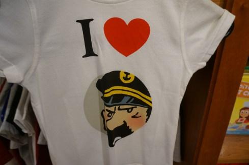 Comics Brussels Belgium Souvenir Shopping Tshirt