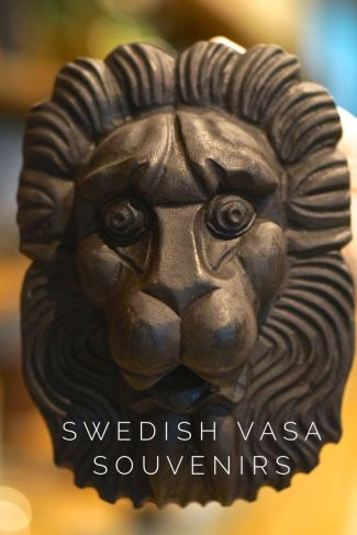 Lion Mask Vasa Musuem Stockholm Sweden Travel Souvenir