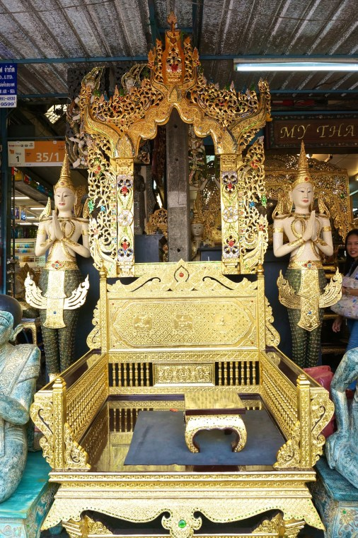 "This throne definitely says ""Thailand."""