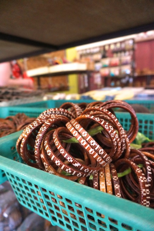 I bought an armful of these bangles for gifts.
