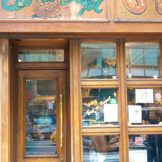 Essa Bagel Sign Storefront Nyc