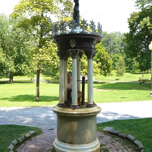 Saratoga Springs Water Fountains Historic Ny Congress Park