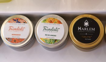 Teri also has these fantastic travel candles, perfect for the girl on the go.