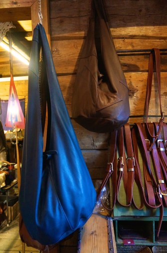 Laeverstedet, Bryggen, bergen, Norway (moose leather