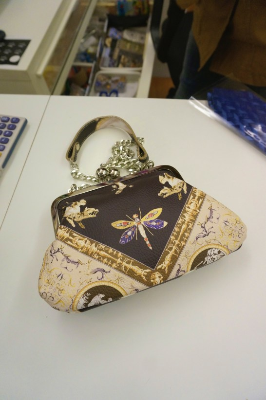 This bag if I recall was about 275 euros-- worth it for a handmade piece of art that I will always have.