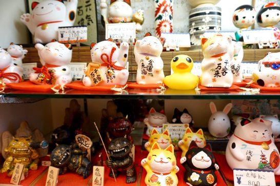 At Asakusa market in Tokyo.