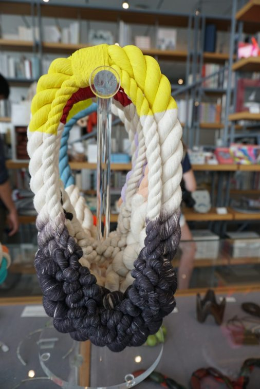 This rope necklace looked intriguing (Whitney Museum of American Art Gift Shop)