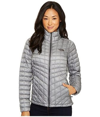 woman's winter slim puffer jackets: North face thermoball