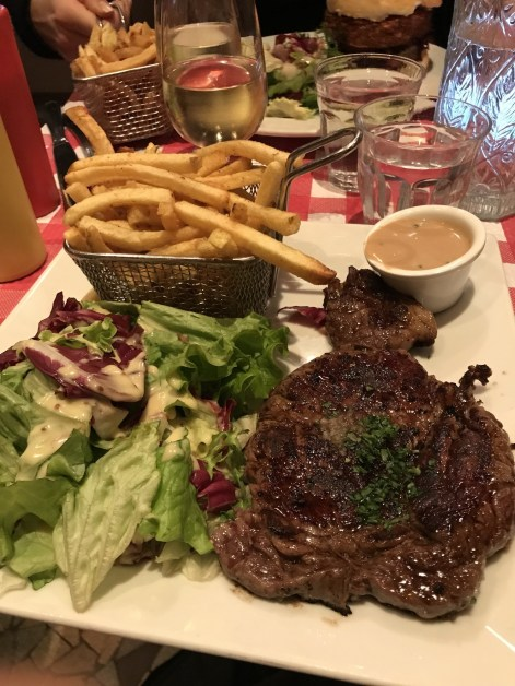 L'Ange, recommended by our greeter for the L' entrecote, which was delicious.