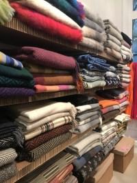Shopping at L'habilleur outlet store in the Marais, Paris