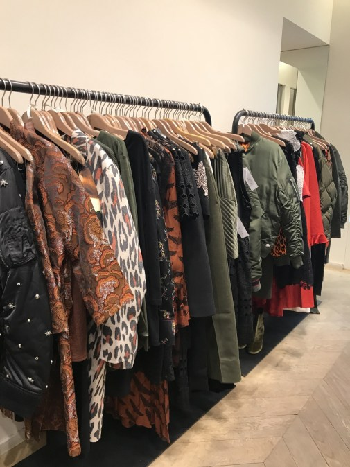 Coats at Sandro outlet Paris