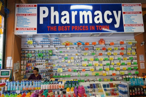 Mexican pharmacy might seem like an unusual place for souvenirs, but you can save big on pricey drugs.