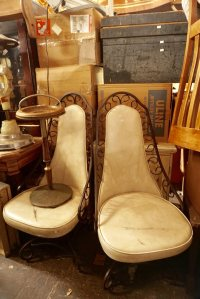 Vintage chairs.