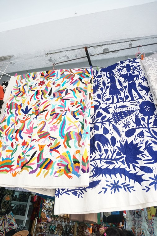 La Ciudedela market bargain shopping pillow cases
