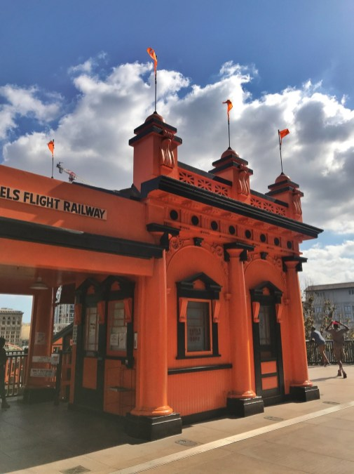 angels flight funicular