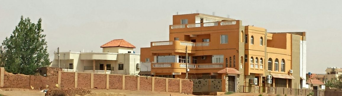 Images of Sudanese architecture.