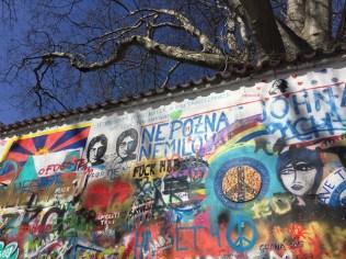 """John Lennon Wall,"" Prague, Czech Republic"
