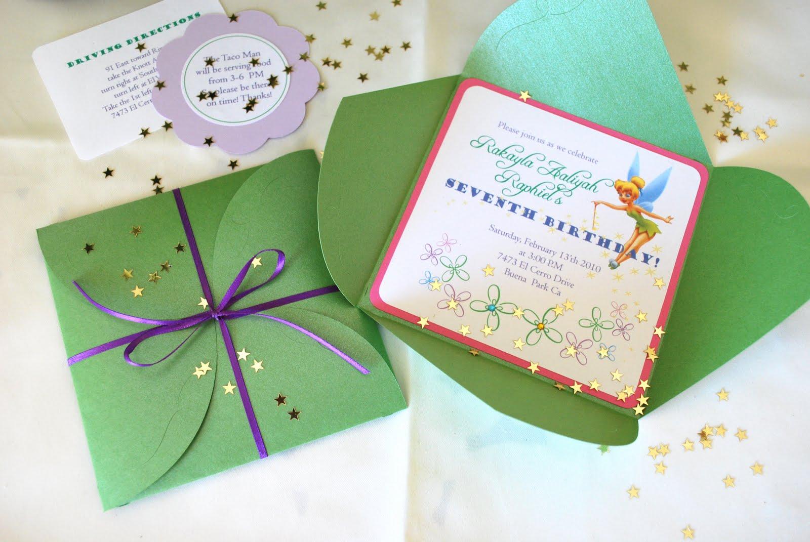 7th birthday invitation souverazzi
