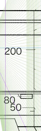 パースを使って教室を描く・一点透視図法59