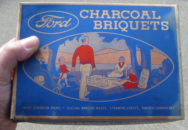 Ford, Edison…and Charcoal?
