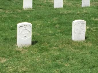 At Gettysburg National Cemetery