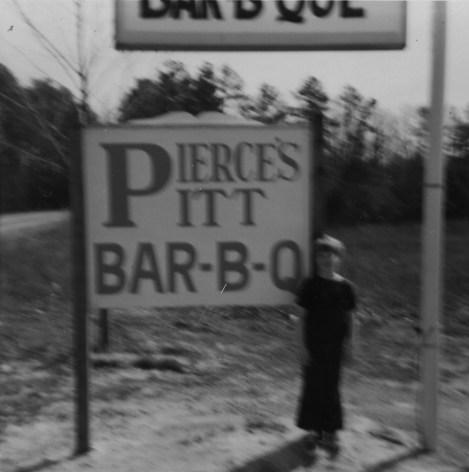 That's Doc Pierce's grandson Scott Shelton, age 10. Photo courtesy of Pierce's Pitt