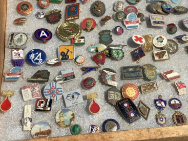 Lots of pins