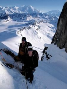 In the Alaska Range