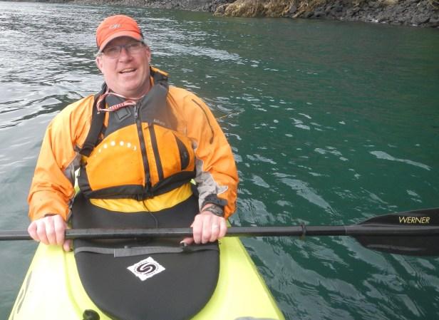 Out kayaking