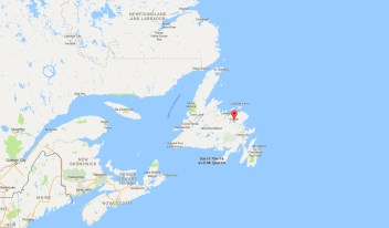 Gander is indeed in Canada (as of 1949)