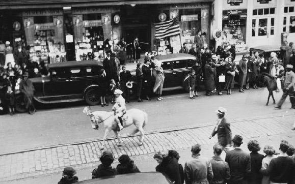 St. Patricks Day Parade, 1934