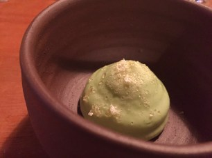 A palette cleanser with lime and sugar