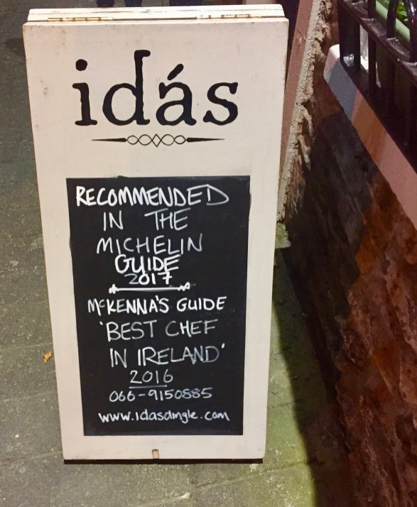 Michelin guide listing...a nice compliment!