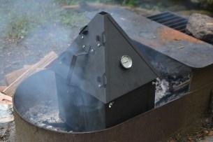 a portable smoker