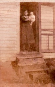 Rosetta Lamb and son Thurman. Photo courtesy of Larry Lamb
