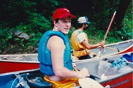 My first taste of canoe instruction