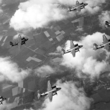 B26s over Italy