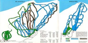 1979 Trail Map. Courtesy of vermontskihistory.com