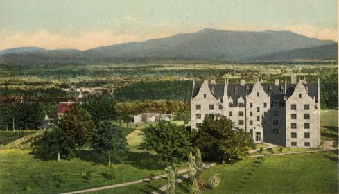 Mansfield from a 1902 postcard