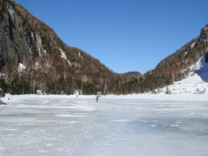 A bluebird day at the lake