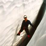 A crevasse on Sahale Peak, WA