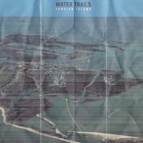 A nice map of the water trails