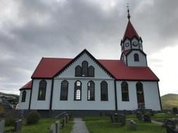 The church in Sandavágur